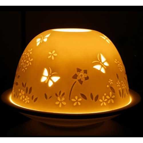 Home design surprising certificate design certificate design - Garden Butterflies Porcelain Tealight Holder