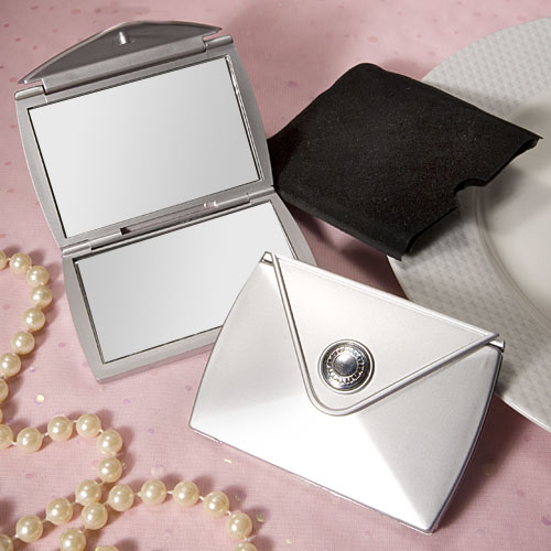 Fashionable Purse Design Compact Mirror Favours