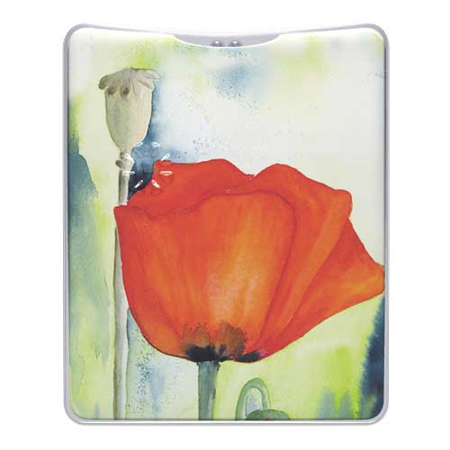 Poppy Flower Handbag Torch