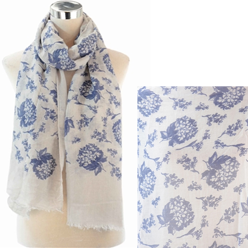 Forget Me Not Bundle Print Scarf