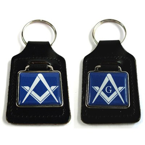 Masonic Blue Key Ring (With or Without G)